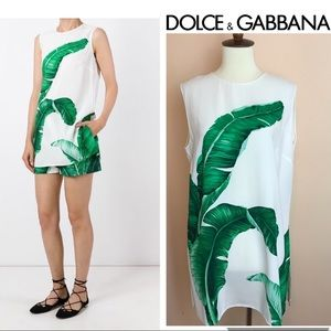 Authentic DOLCE & GABBANA Banana Leaf Top